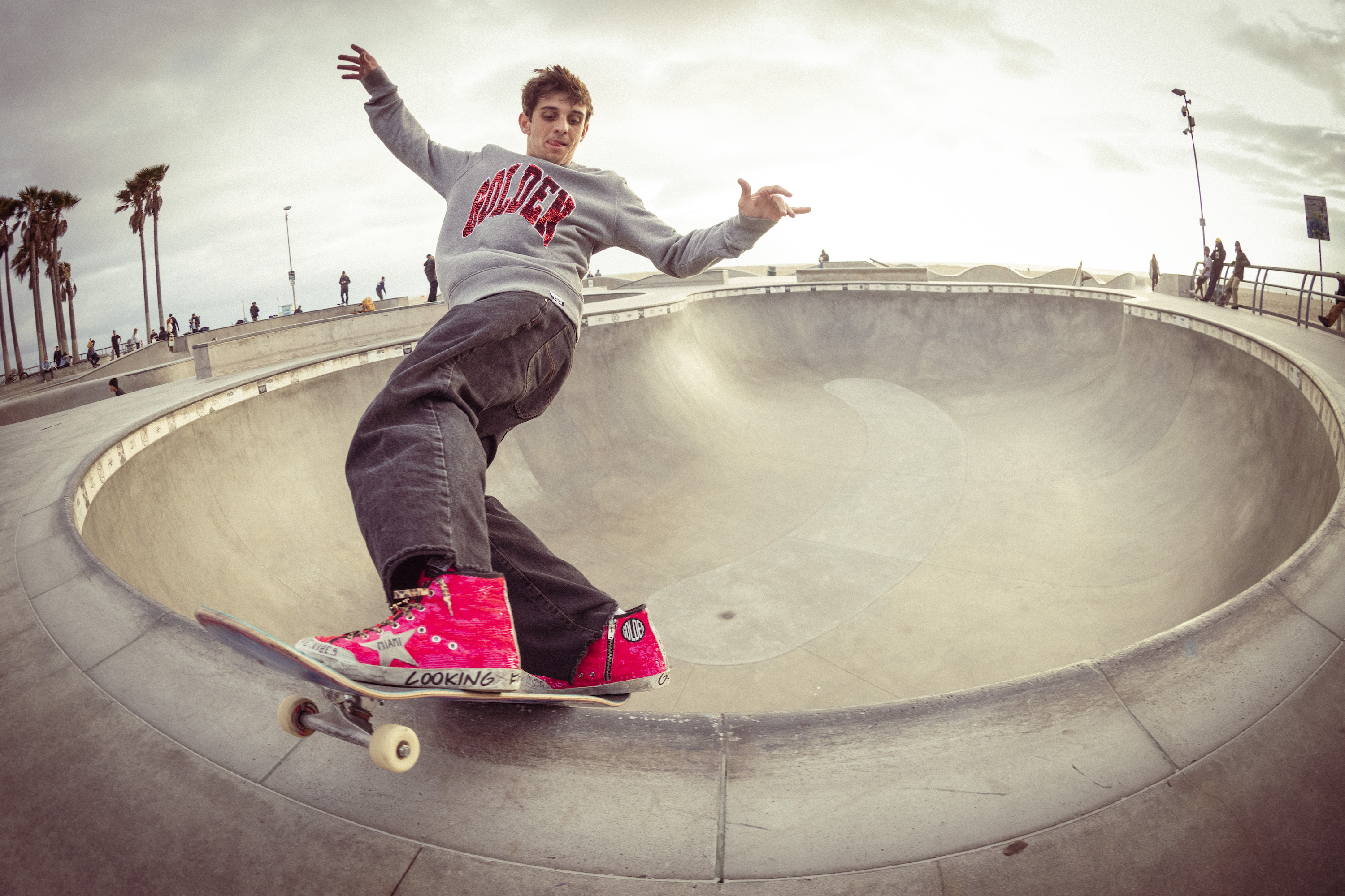 Golden Goose is partnering with U.S. skater Cory Juneau for the Olympic Games.