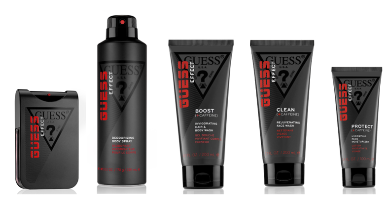 Guess is launching Effect, its first skin care range.