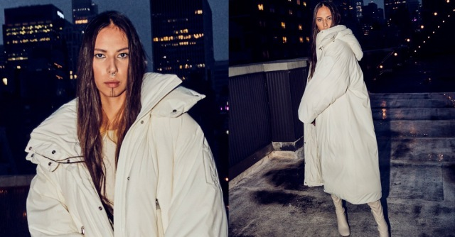 """From a Mackage campaign featuring the new """"Cloud"""" collection."""