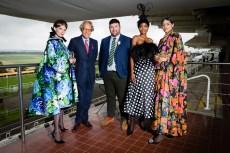 Richard Quinn Designs Three Looks For Qatar Goodwood Festival