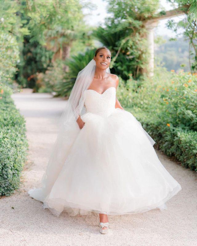 Issa Rae's Wedding Dress: A Closer Look