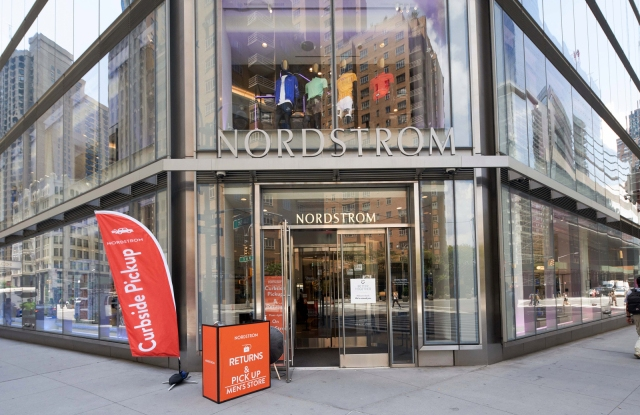 Nordstrom's men's store in Manhattan.