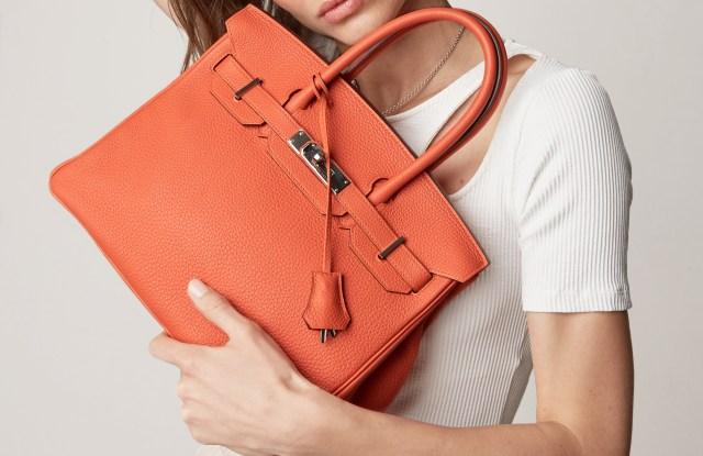 An Hermès bag sold by Rebag.