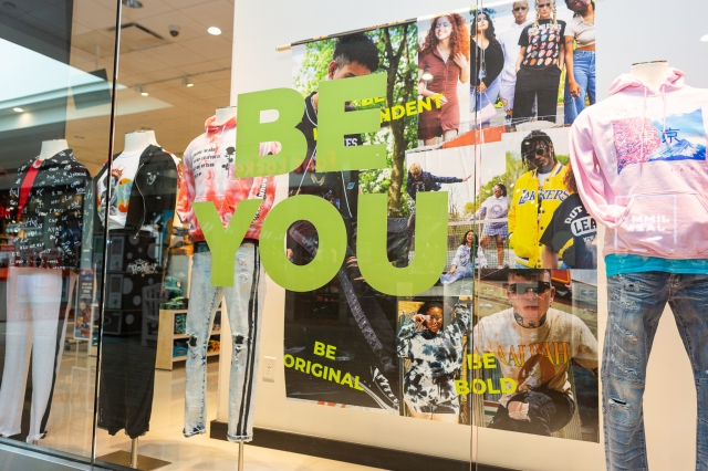 rue21 opens store number 653 store today in Columbus, Georgia.