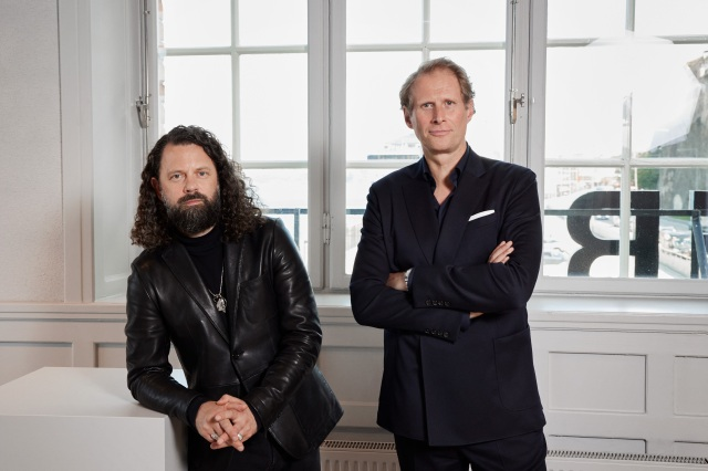 Neil Lewty and Hans-Christian Meyer of J.Lindeberg.