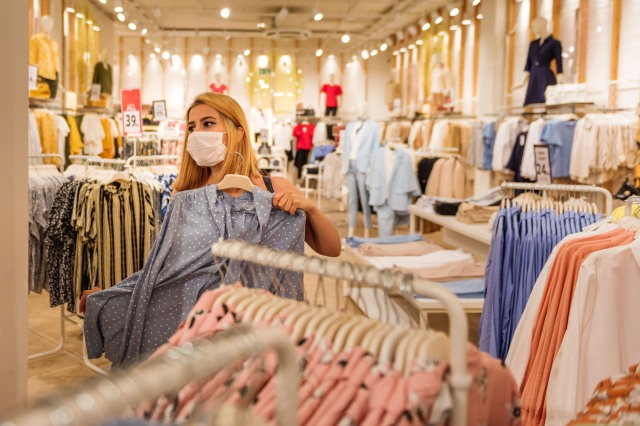 Many retailers require staff to wear masks and are following state and local mandates closely.