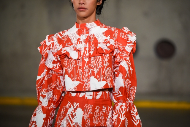 Fikile Sokhulu Willow Collection shown at South African Fashion Week April 2021