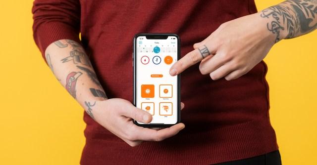 The Clue app
