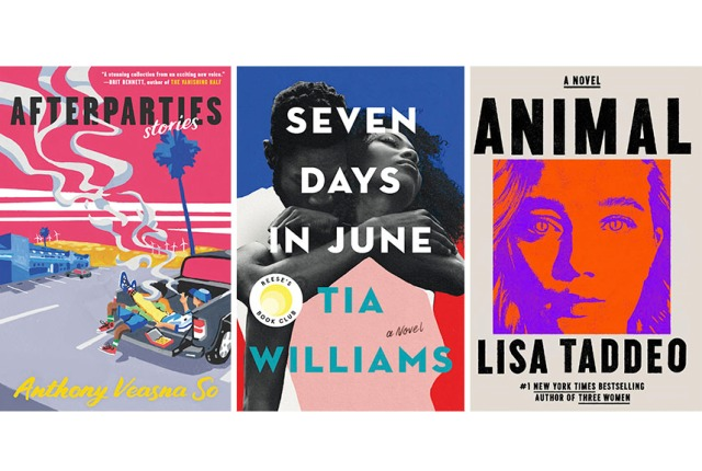 Summer 2021 book releases.