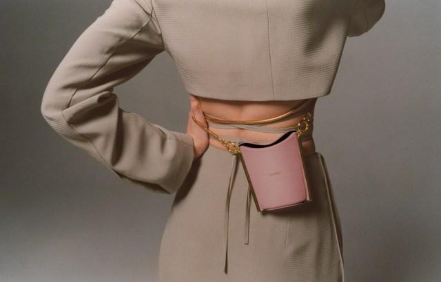 Yuzefi x Super Mini Pitta Brownrose bag