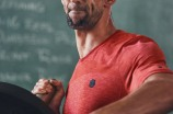 Under Armour ambassador Michael Phelps.