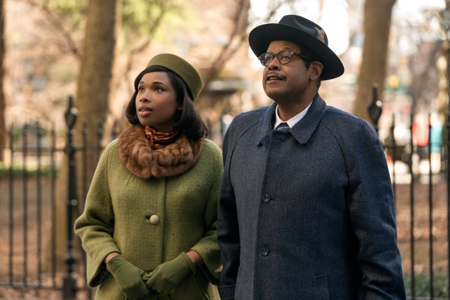 R_27620_RCJennifer Hudson stars as Aretha Franklin and Forest Whitaker as her father C.L. Franklin in RESPECT A Metro Goldwyn Mayer Pictures film Photo credit: Quantrell D. Colbert
