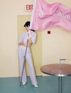 Juicy Couture Taps Men's Wear Label Staffonly for First ChineseCollaboration