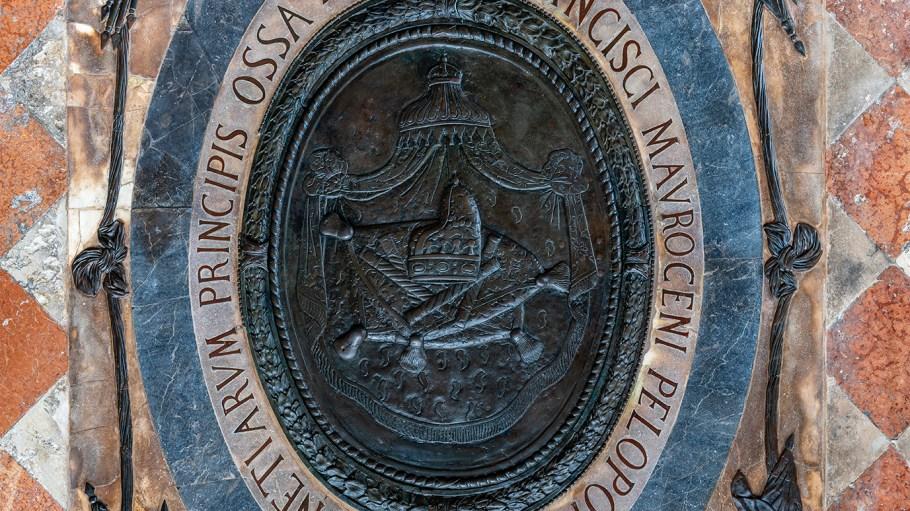 El monumento funerario dedicado al dux