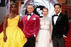 Kate Middleton, Ana de Armas, Lashana Lynch and More Stun at 'No Time To Die'Premiere