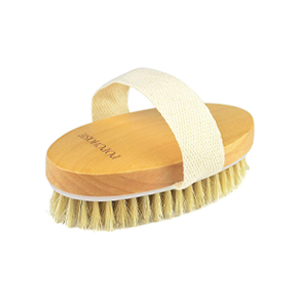 Popchose Natural Bristle Dry Skin Exfoliating Brush