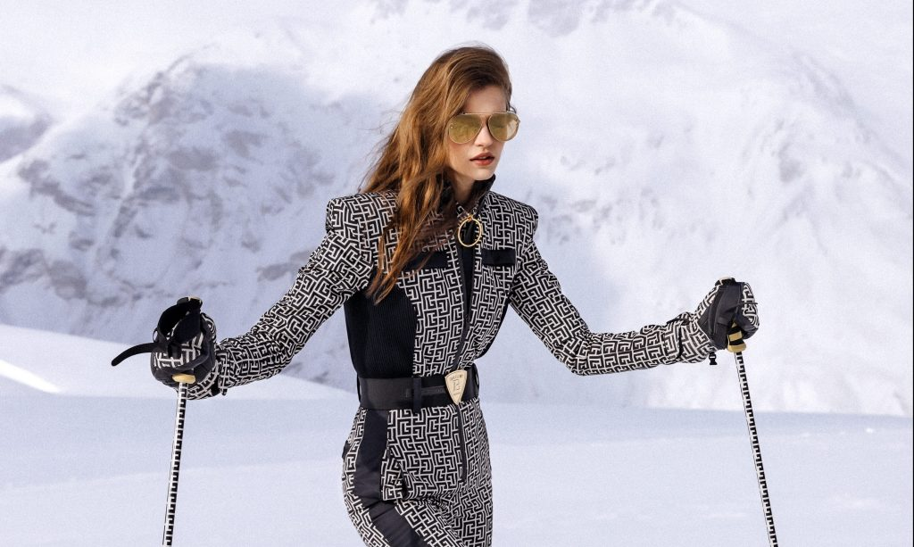 Balmain Swooshes Into a Ski Collaboration With Rossignol