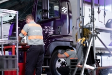 Partnering for Self-Driving Trucks and Better B-to-bDeliveries