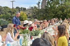Mother Denim Hosts Malibu Lunch to Celebrate Upcycled Capsule with CarolynMurphy