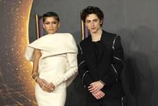 Zendaya and Timothée Chalamet Dazzle on the Red Carpet at London's 'Dune' FilmPremiere